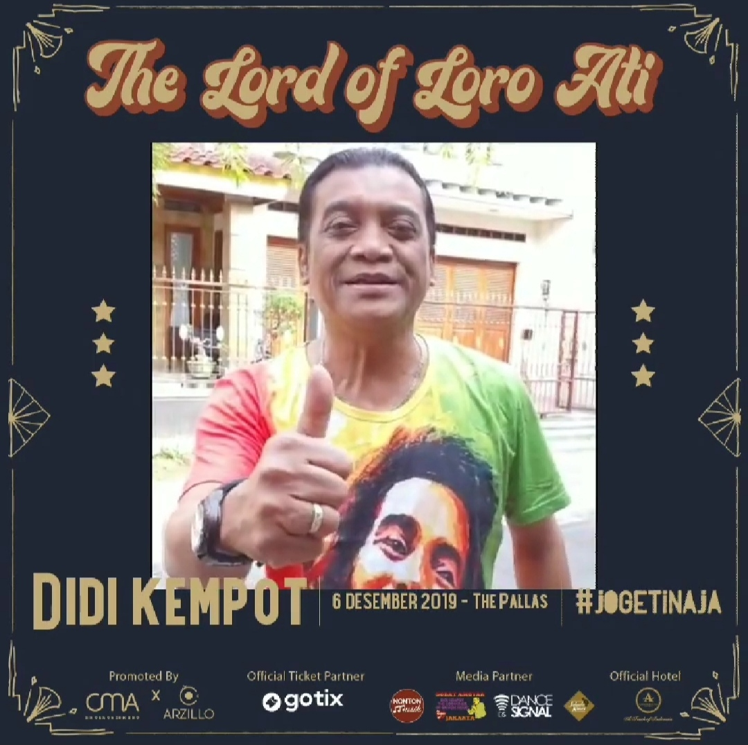 Konser Ambyar Didi Kempot The Pallas Jakarta Promotion Your