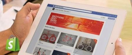 como montar uma loja virtual no facebook shopify
