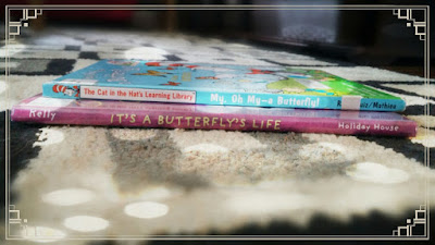 Butterfly books on Reading List as part of Children's Corner