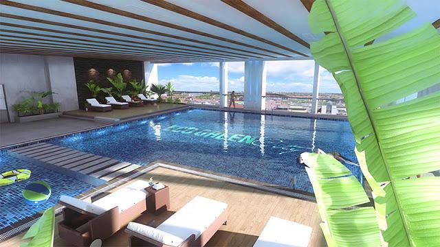 Bể bơi bốn mùa tại Eco Green City