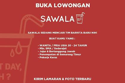 Info Lowongan Kerja Barista Sawala Semarang