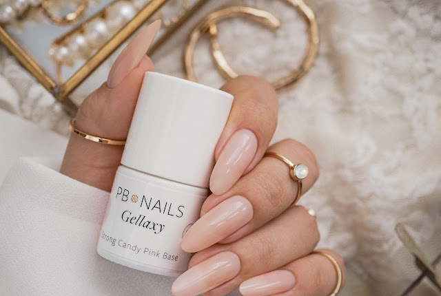 Ślubne paznokcie | CANDY PINK BASE | PB NAILS