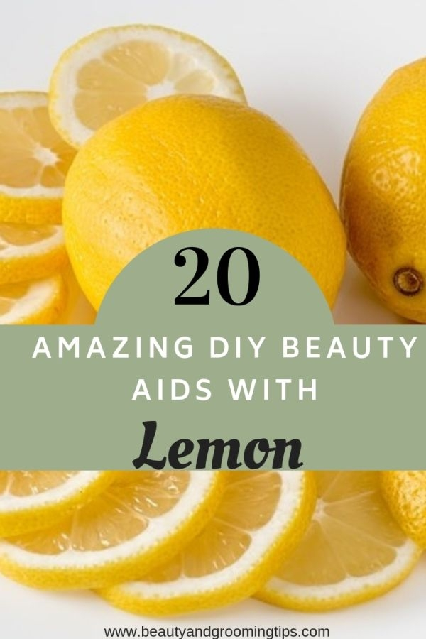 Lemon as beaut aid