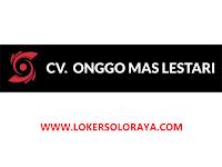 Loker Staff Accounting & Pajak di CV Onggo Mas Lestari Sukoharjo