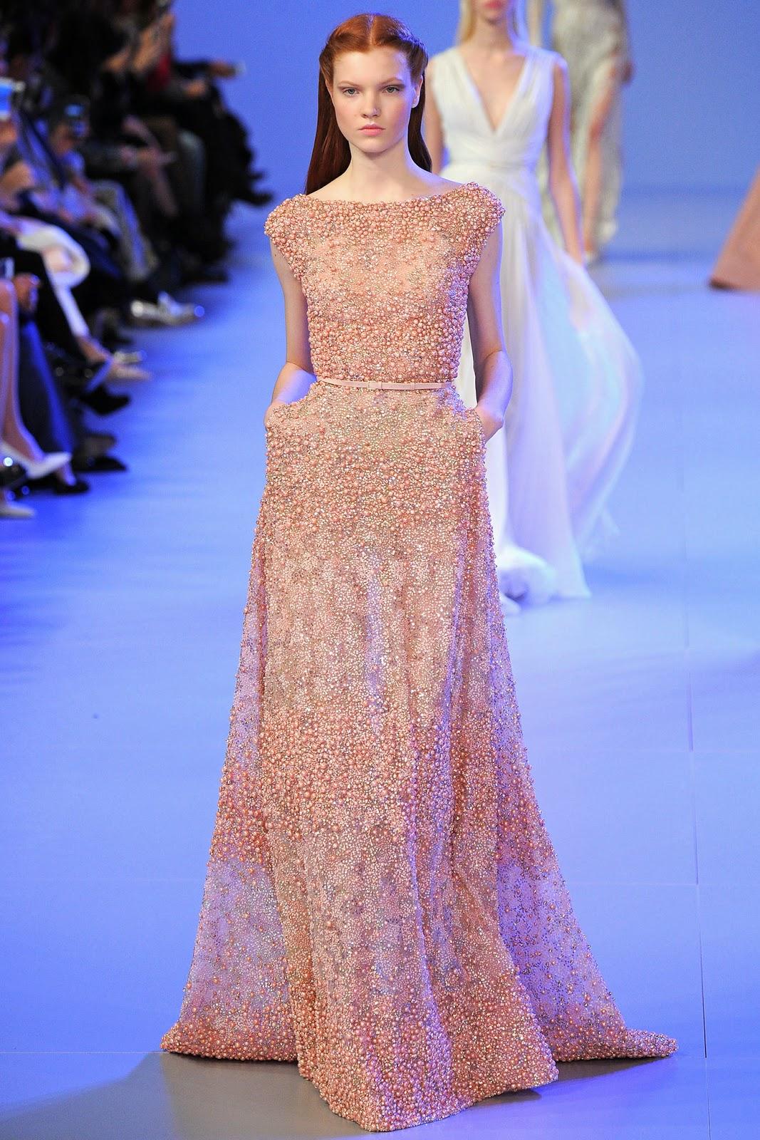 Elie Saab haute couture printemps été spring summer 2014