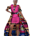 Beautiful Ankara Styled Long Gown for Womens Pics