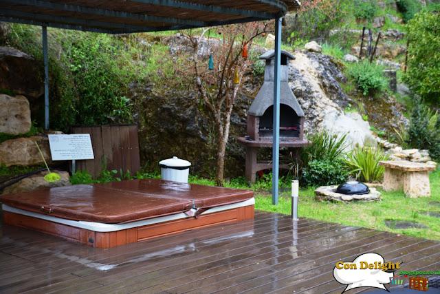 winter tub spa ג'קוזי ספא בחורף