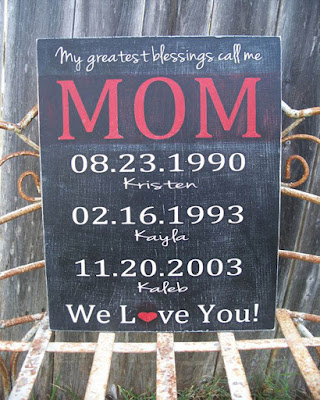 rustic mom gift