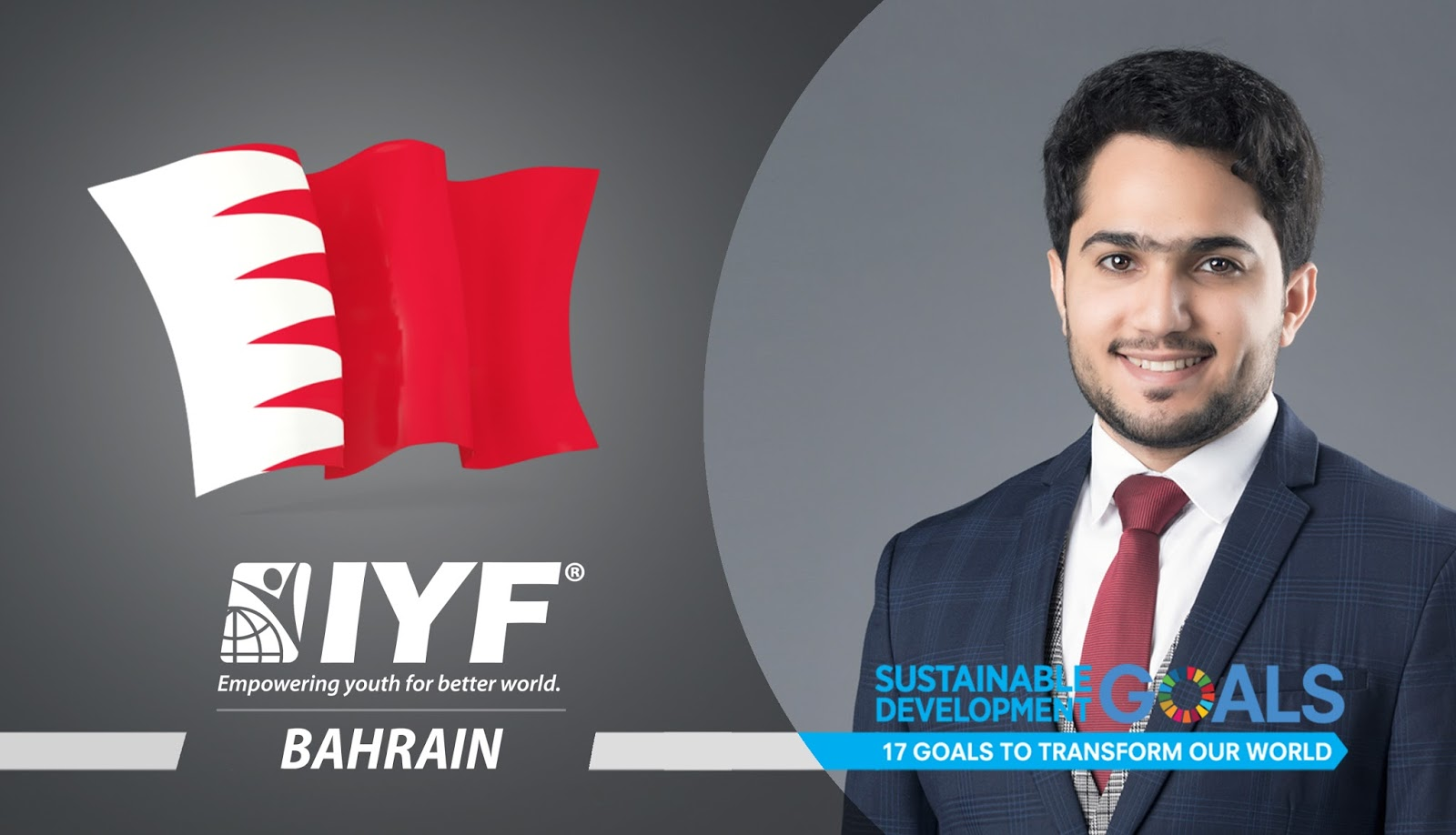 Abdulaziz Alsebaie, IYF Representative in Bahrain