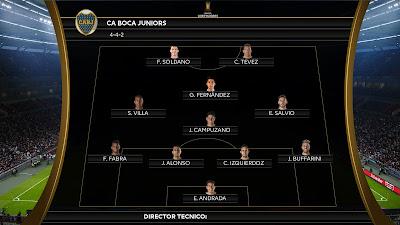 PES 2020 Scoreboard CONMEBOL Libertadores by SG