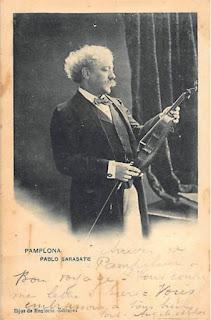 violoniste navarre pays basque