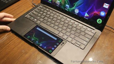 Prototype Handphone 'Razer Phone' Menjadi Touchpad & Power Button Laptop