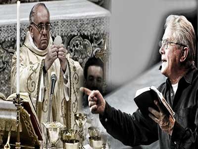 Luis Palau y el Papa Francisco I