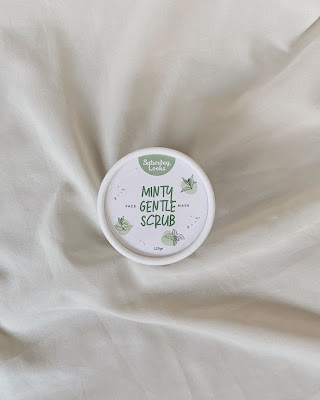 review saturday looks minty gentle scrub