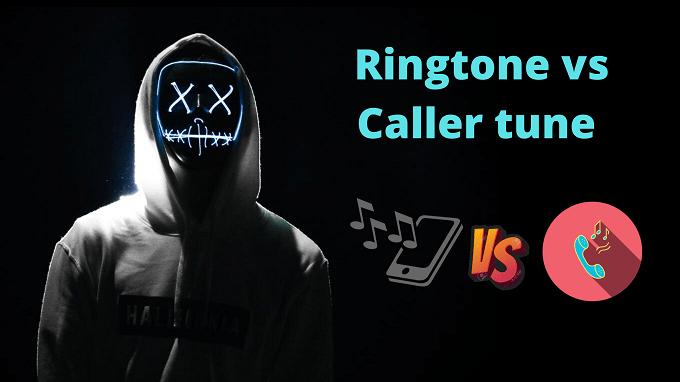 Ringtone vs caller tune difference