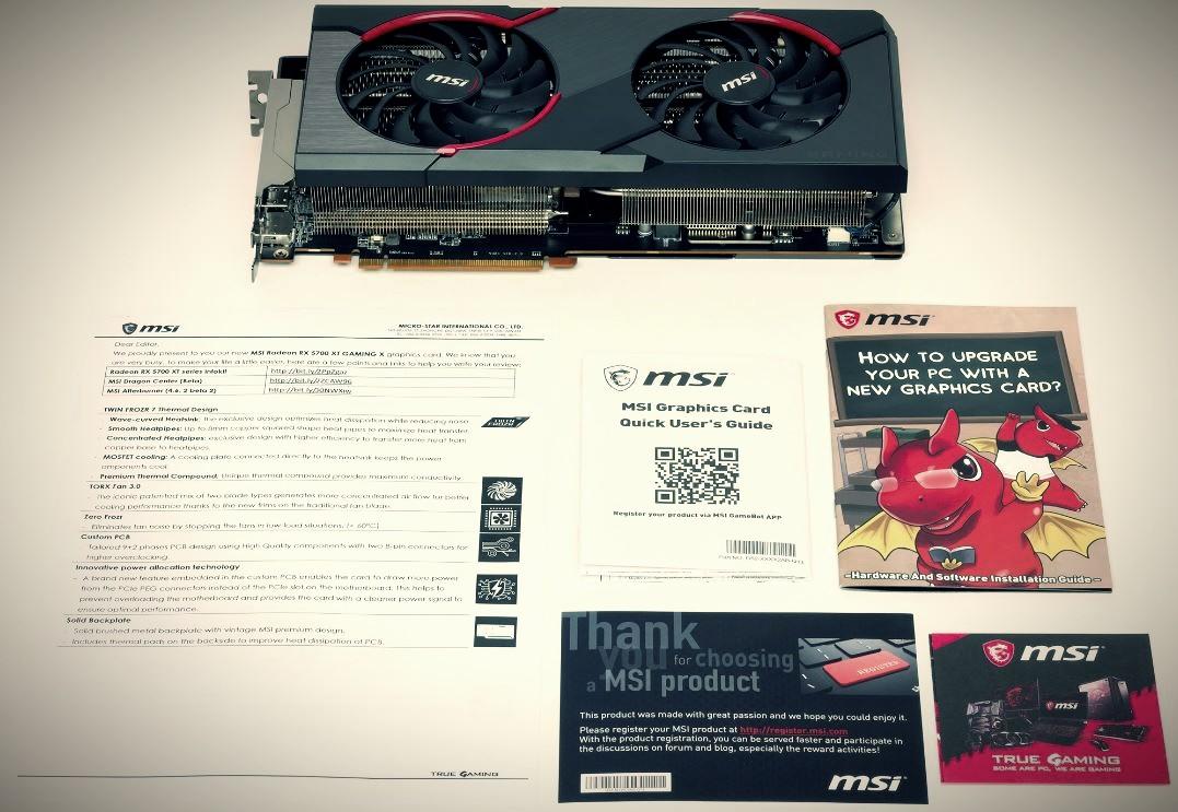 MSI Radeon RX 5700 XT Gaming X