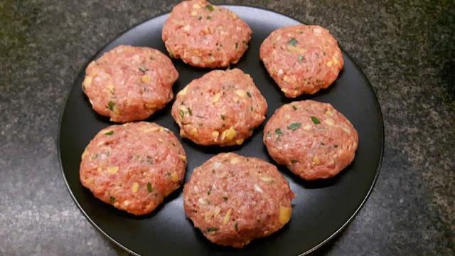 Rezept für bayerische Fleischpflanzerl