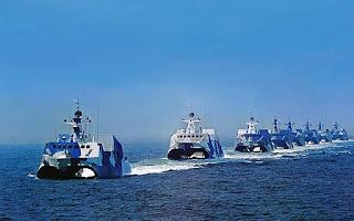 Kapal Cepat Rudal Tipe 022 Angkatan Laut China