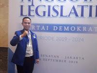 DPP Partai Demokrat Menunjuk Aang Purnama Sebagai Wakil Ketua DPRD Kabupaten Sarolangun