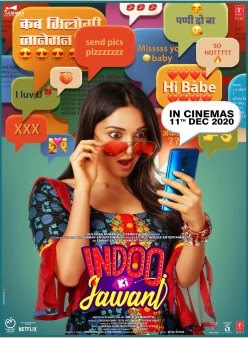 Indoo Ki Jawani (2020) Hindi Movie 720p | 480p Hindi 5.1ch HDRip ESub x264 900Mb | 350Mb