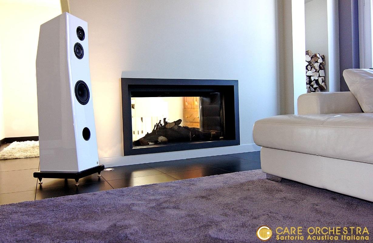 Care orchestra interior design l 39 audio di interni - Casse acustiche design ...