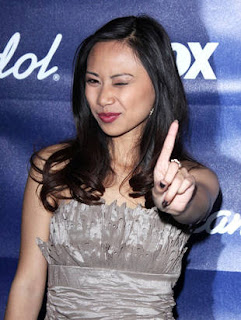 Jessica Sanchez  during the party held in honor of American Idol's Top 13