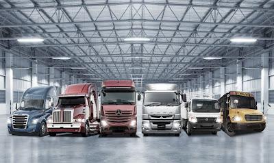 Daimler Trucks registra seu melhor ano de vendas