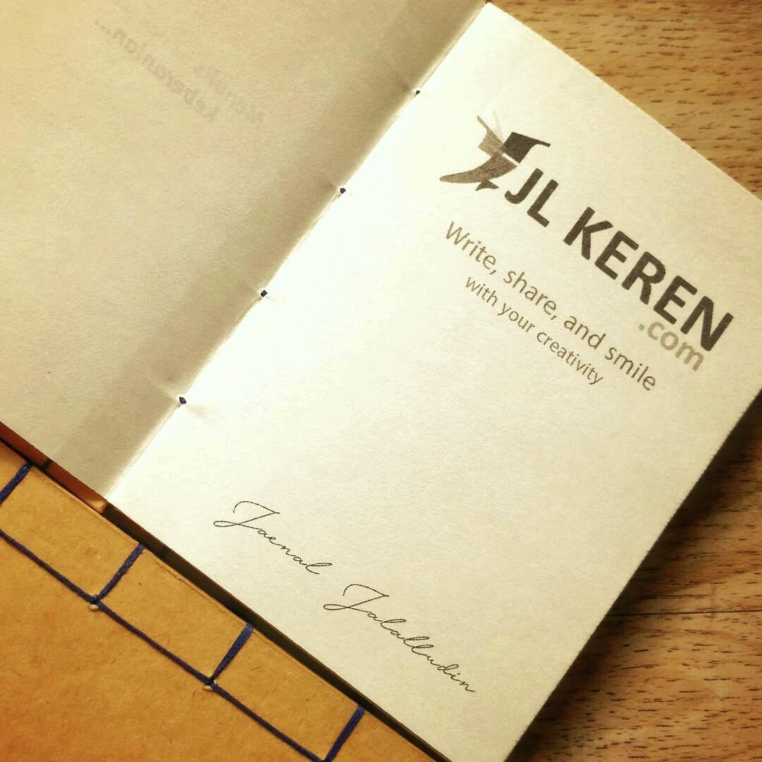 Notebook Handmade JL Keren.com