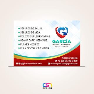 Tarjeta García Insurance