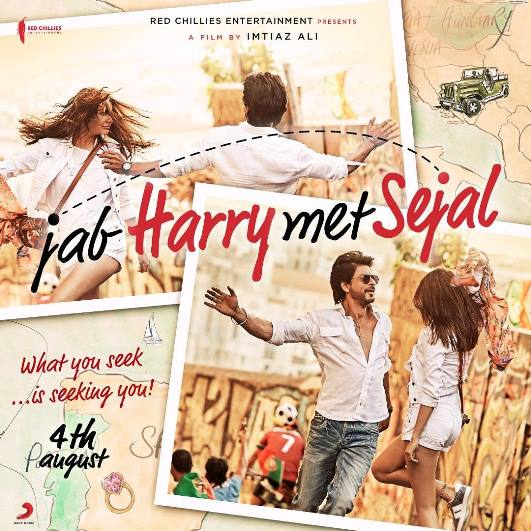 Shah Rukh Khan, Anushka Sharma Hindi movie Jab Harry Met Sejal 2017 wiki, full star-cast, Release date, Actor, actress, Song name, photo, poster, trailer, wallpaper