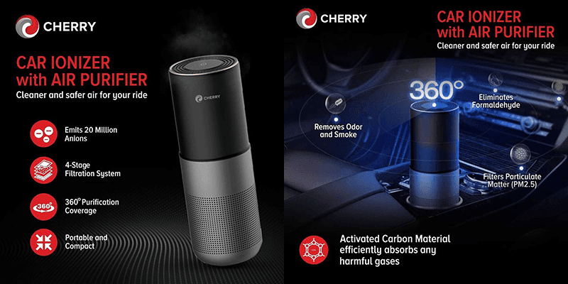 Cherry Ionizer with Air Purifier announced, priced at PHP 2,500