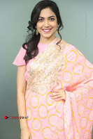 Actress Ritu Varma Pos in Beautiful Pink Anarkali Dress at at Keshava Movie Interview .COM 0013.JPG
