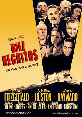 Diez negritos - 1945 - René Clair - poster