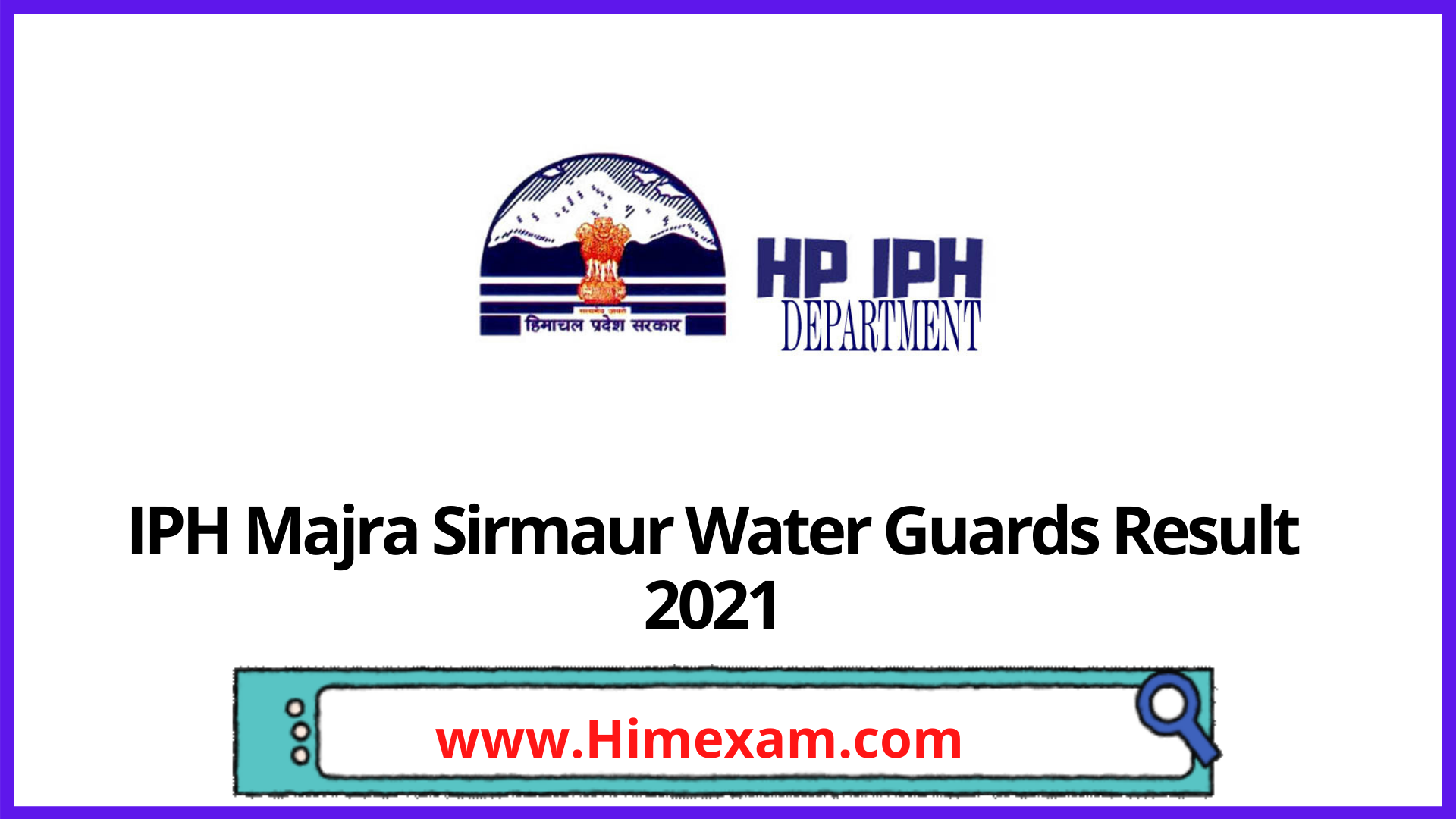 IPH Majra Sirmaur Water Guards Result 2021