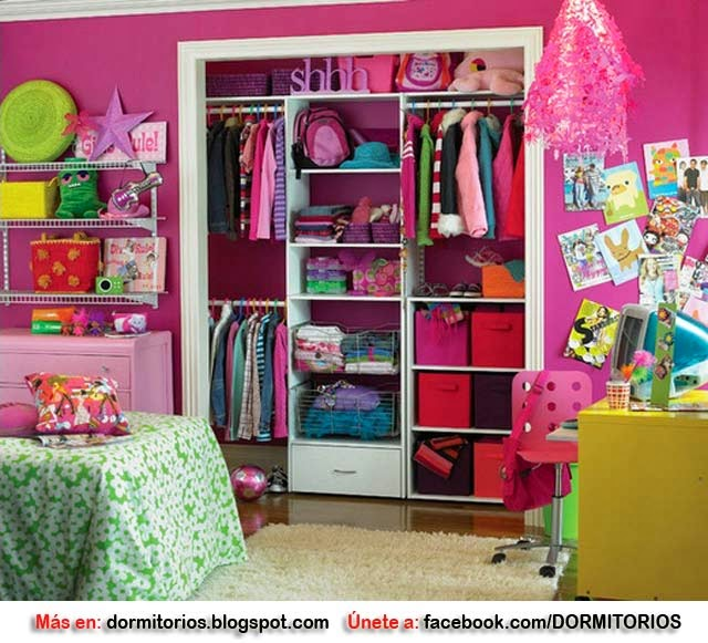 11 Cool Baby Nursery Design Ideas From Vertbaudet: CLOSET PARA NIÑOS CLOSET PARA NIÑAS