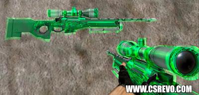 Skin AWP - Green Glass - CS 1.6, awp, skins