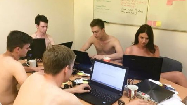 Photosworkers Strip Naked After Belarus Dictator -9920