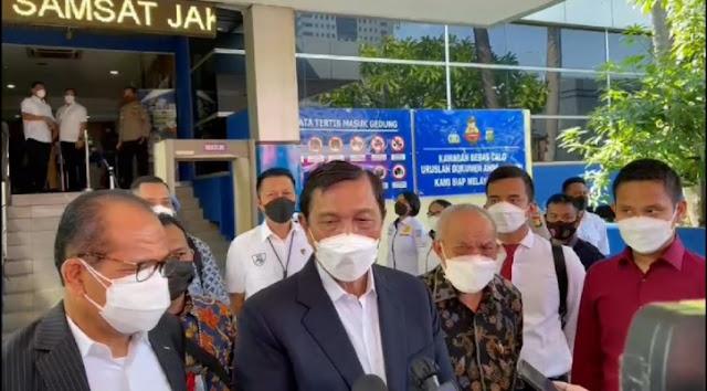 Datangi Polda Metro, Luhut Polisikan Haris Azhar dan dan Fatia terkait Pencemaran Nama Baik