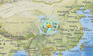 7.0-magnitutde quake that struck China