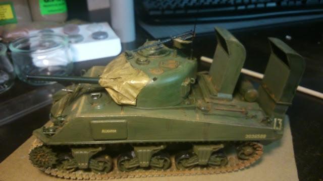 US Marines M4 Sherman (Italieri - 1/35) DSC_0095