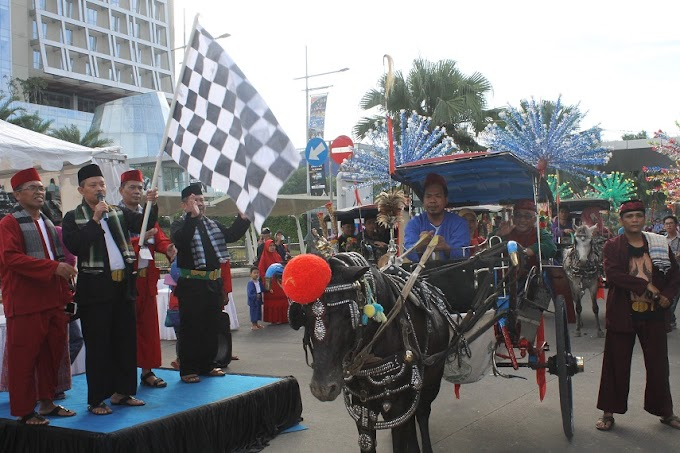 50 Instansi Meriahkan Parade Budaya HUT ke-18 Kota Depok