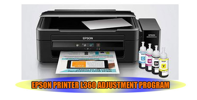 EPSON L360 PRINTER ADJUSTMENT PROGRAM