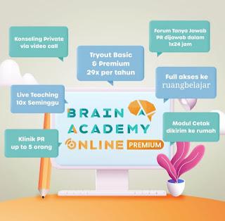 Brain Academy Online Premium