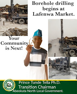 Abeokuta North LG  Boss begins Another Project In Ogun
