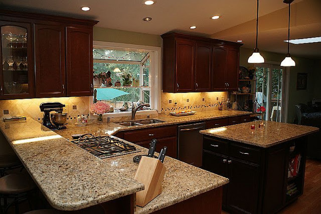 Antique Gold Granite Countertops