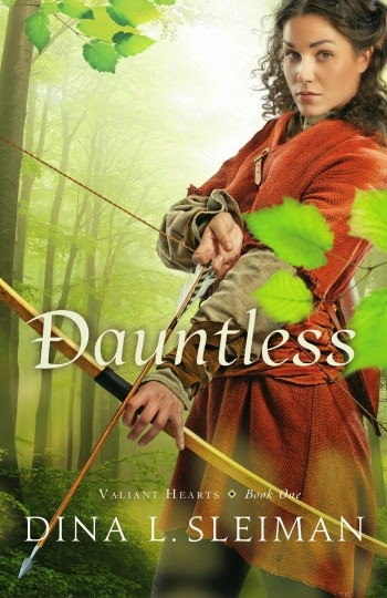 MixingItUp Becki's review of Dauntless by Dina L. Sleiman