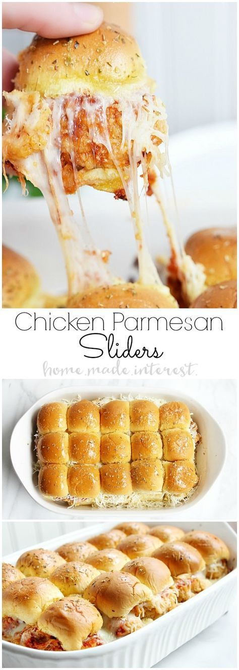 Chicken Parmesan Sliders | Easy and Delicious #recipes #lunchrecipes #food #foodporn #healthy #yummy #instafood #foodie #delicious #dinner #breakfast #dessert #lunch #vegan #cake #eatclean #homemade #diet #healthyfood #cleaneating #foodstagram
