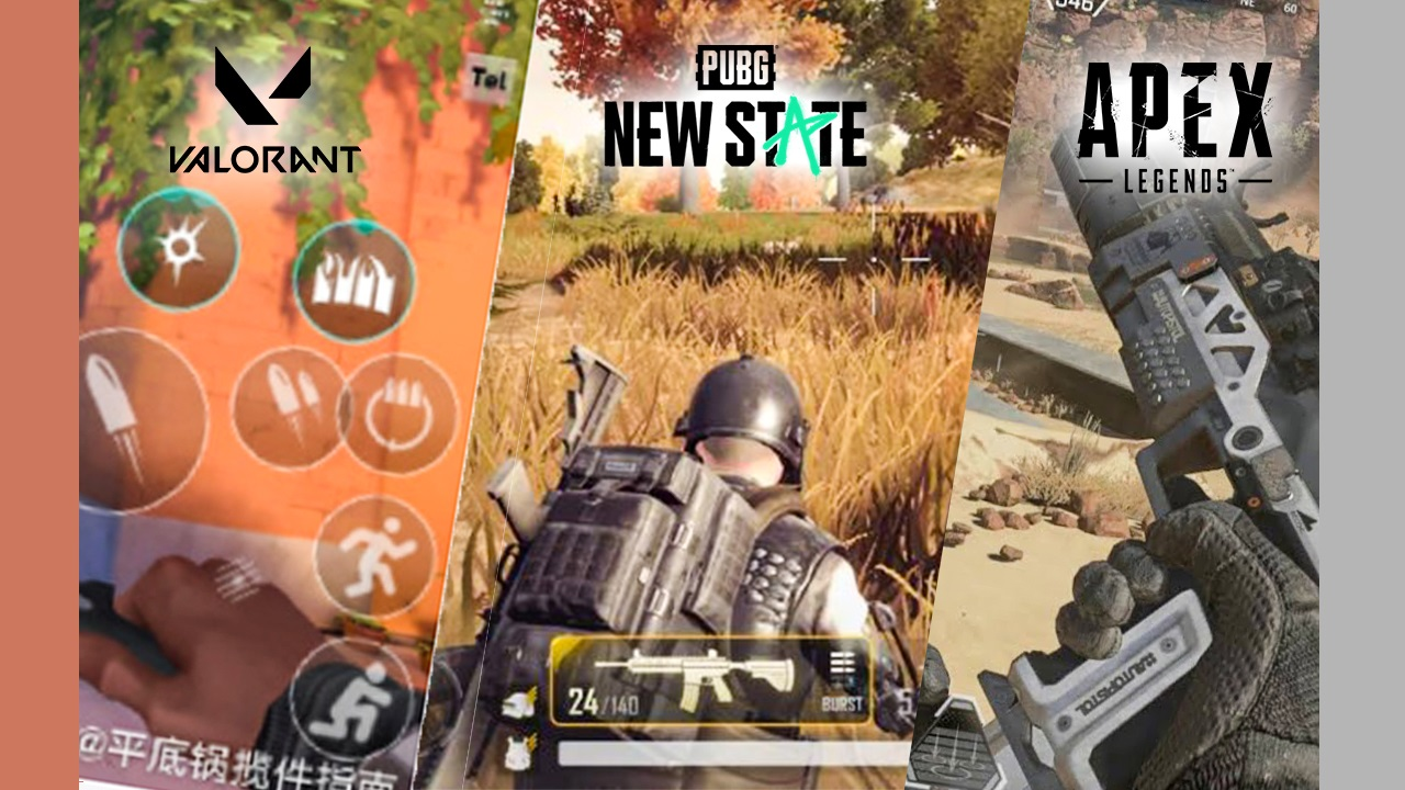 PUBG New State, Apex Legends and Valorant Launch Update