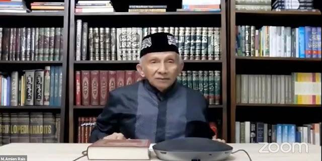Oligarki Merajalela, Amien Rais Khawatir Jokowi Berakhir Kurang Elegan