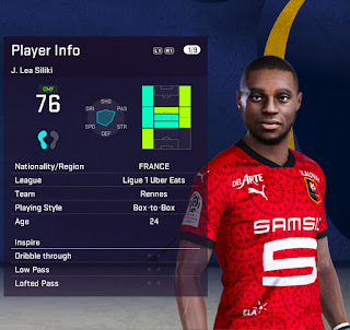 PES 2021 Faces James Léa Siliki by Fleishman
